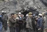 معدن طزره,حبس کارگران در معدن طزره