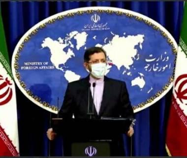 خطیب زاده,سخنگوی وزارت امور خارجه