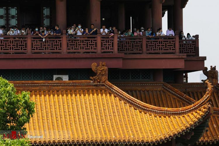 تصاویر هفته طلایی در چین,عکس های اول اکتبر روز ملی چین,تصاویر هفته ملی چین