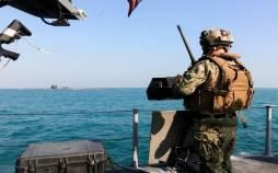 ناوگان پنجم آمریکا,توقیف قایق حامل سلاح
