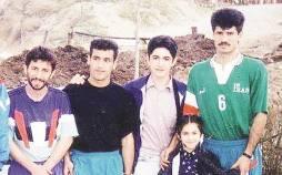 عکس قدیمی علی دایی و قلعه نویی و منصوریان,نوستالژی