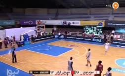 فیلم| پرتاب زیبا بازیکن تیم بسکتبال شهرداری گرگان در دیدار فینال؛ رابرت مالی تبریک گفت