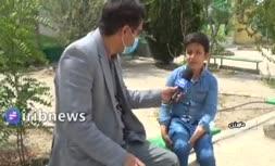 فیلم   گفتگو با پسر بچه استقلالی: دیدند پرچم استقلال دارم با چاقو تهدیدم کردند