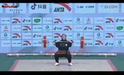 فیلم/ مهار وزنه 121 کیلویی توسط فاطمه یوسفی در مسابقات وزنه برداری قهرمانی آسیا