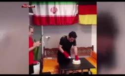 فیلم/ جشن تولد ۴۶ سالگی همایون شجریان در باشگاه بوکس