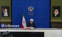 فیلم | خبر روحانی درباره عبور از پیک چهارم کرونا در ایران