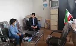 فیلم   واکنش رئیس آموزش و پرورش سبزوار و تقدیر از 'محمدمهدی' کودک هوادار استقلالی