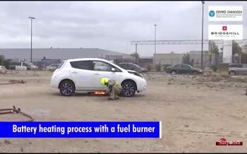 فیلم/ پتوی Bridgehill ویژه اطفا حریق خودرو؛ محصولی جالب و خلاقانه با کاربرد آسان و ایمن