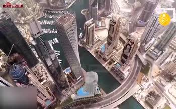 فیلم/ ساخت مرتفعترین هتل جهان در دبی