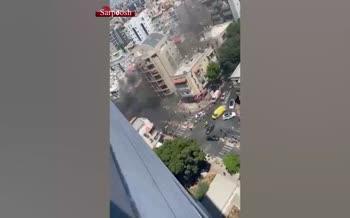 دور جدید عملیات موشکی مقاومت فلسطین به تلآویو/ حمله هواپیمای اسرائیل به محل استقرار خبرنگاران بین المللی در غزه