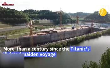 فیلم/ امکان زندگی در کشتی تایتانیک پس از صد سال