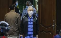 تصاویر چهارمین جلسه رسیدگی به اتهامات حسن رعیت,عکس های دادگاه حسن رعیت,تصاویر جلسه چهارم دادگاه حسن رعیت