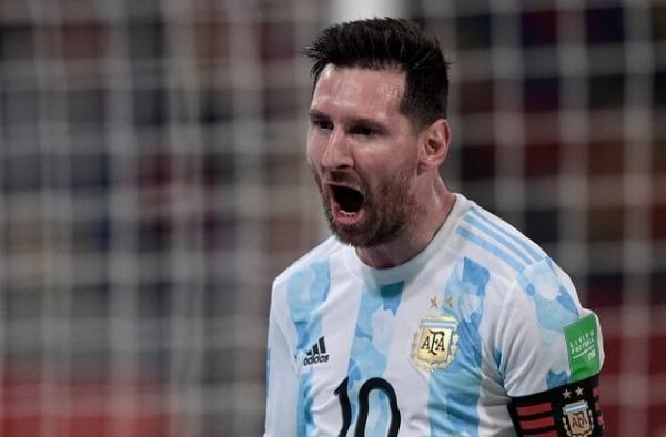 نتایج تیم ملی آرژانتین,لیونل مسی