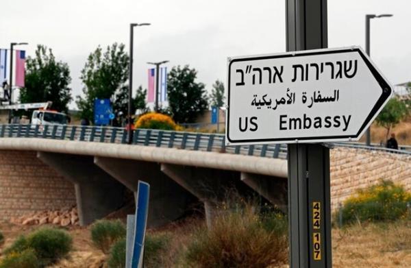 سفارت آمریکا در قدس ,راهپیمایی پرچمها