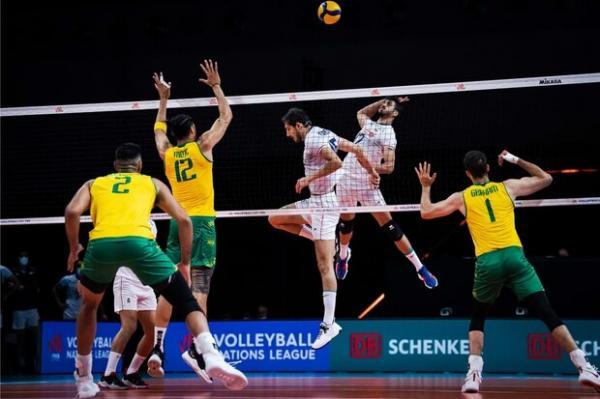 لیگ ملتهای والیبال,شکست ایران برابر استرالیا در لیگ ملتهای والیبال