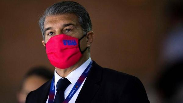 خوان لاپورتا,رئیس باشگاه بارسلونا