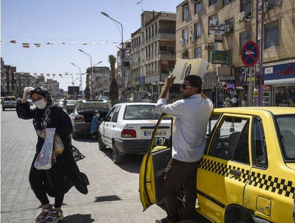 پیش بینی وضع هوا ,گرمای هوای ایران