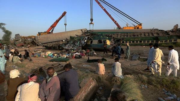 شرکت ملی راه آهن پاکستان, حادثه برخورد دو قطار