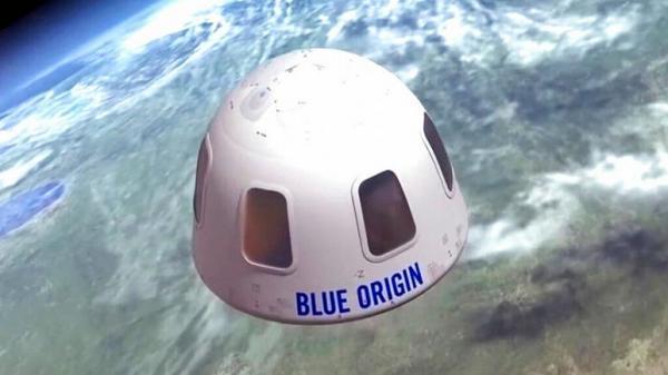 حراج بلت سف به فضا, بلیت همراهی جف بزوس در سفرش به فضا