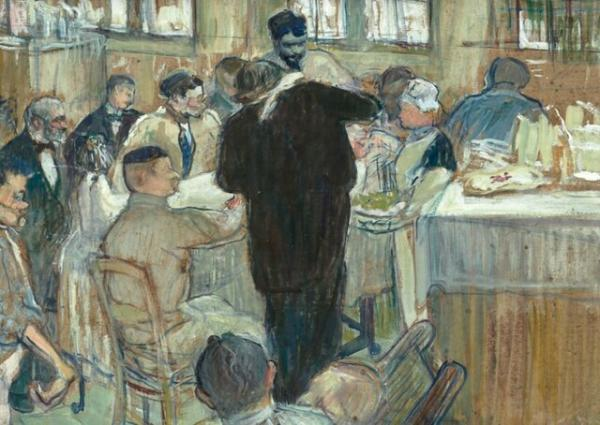 آنری دو تولوز لوترک» نقاش فرانسوی