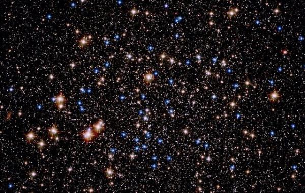 نمایش خیرهکننده یک خوشه ستارهای,خوشه ستارهای