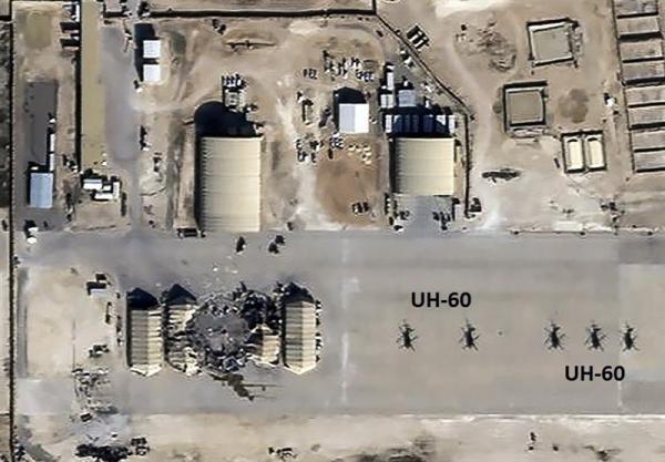 حمله موشکی به پایگاه آمریکایی عینالاسد در عراق,حمله موشکی به عراق