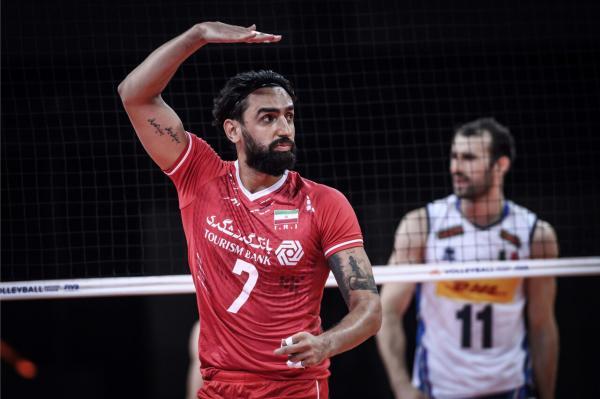 تیم ملی والیبال ایران,رتبه تیم ملی والیبال ایران در جهان