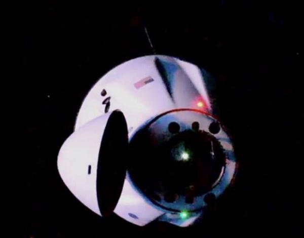 کپسول اسپیس ایکس,ایستگاه فضایی بین المللی