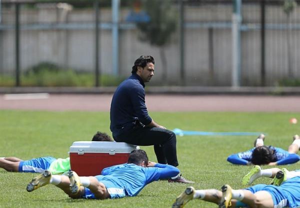 تمرین تیم استقلال,فرهاد مجیدی