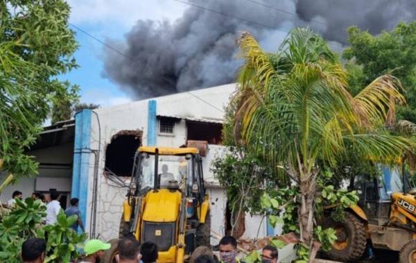 آتشسوزی در کارخانه مواد شیمیایی هند,حوادث هند