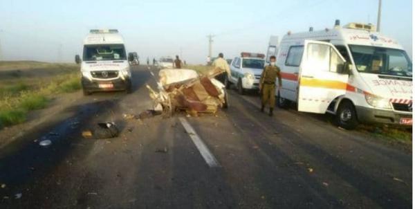 تصادف مرگبار کامیون با پراید در نیشابور,حوادث نیشابور