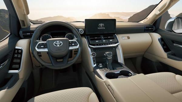 نسل جدید تویوتا لندکروزر ۲۰۲۲,خودروهای جدید تویوتا