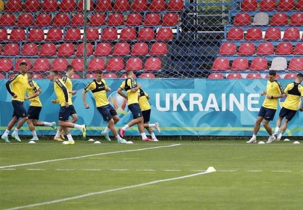 یورو 2020,دستور یوفا به تیم ملی فوتبال اوکراین برای حذف شعارهای سیاسی از پیراهنش