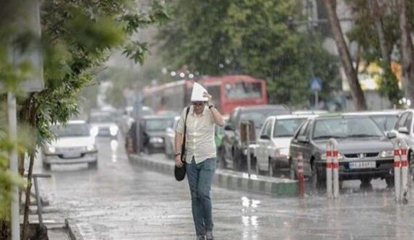 وضعیت آب و هوای کشور,وضعیت هوای ایران در خرداد 1400