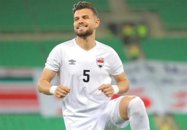 علی فائز,مدافع تیم ملی فوتبال عراق