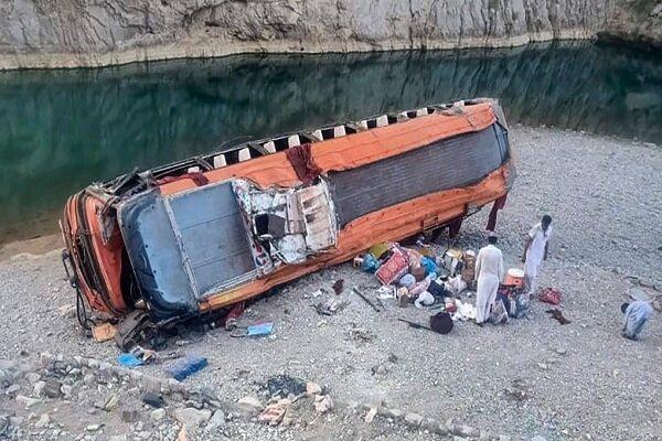 واژگونی اتوبوس در پاکستان,حوادث پاکستان