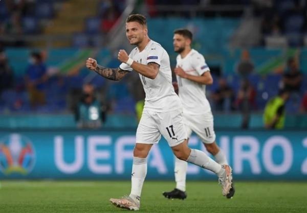 دیدار تیم ملی ایتالیا و ترکیه,یورو 2020