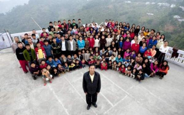 رکورددار تعداد همسر,مردی با 39 همسر