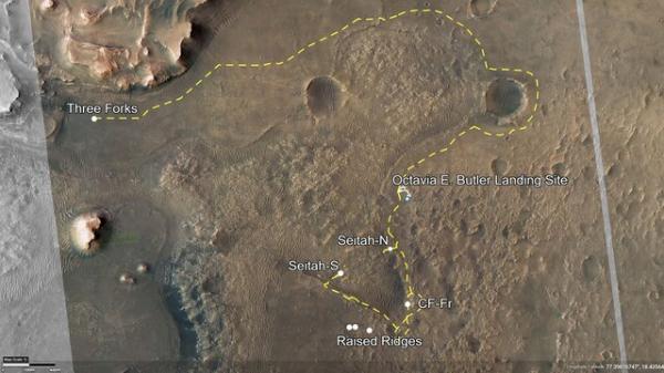 ماموریت علمی مریخنورد استقامت,مریخ