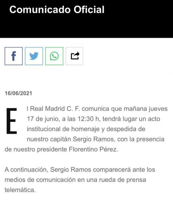 سرخیو راموس,جدایی راموس از رئال مادرید
