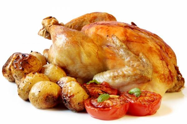 مرغ,قلوه و اندام های داخلی بدن مرغ