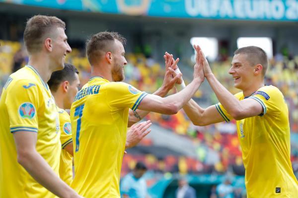 دیدار تیم ملی اوکراین و مقدونیه,یورو 2020