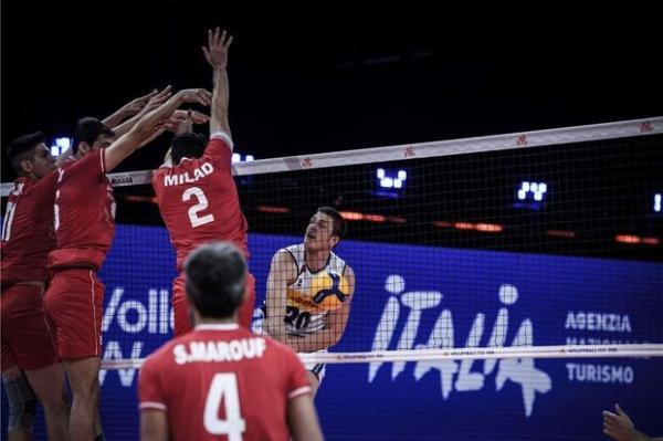 دیدار تیم ملی والیبال ایران و اسلوونی,لیگ ملت های والیبال 2021
