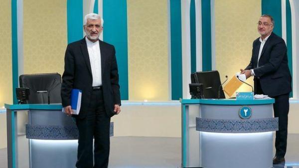 سعید جلیلی و علیرضا زاکانی,انتخابات 1400