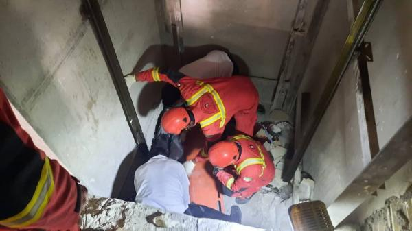 سقوط در چاهک آسانسور در تهران,حوادث تهران