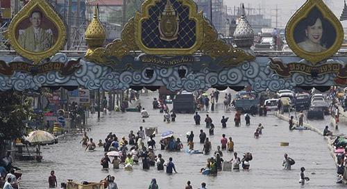 زیر آب رفتن شهرهای جهان,شهرهای ساحلی
