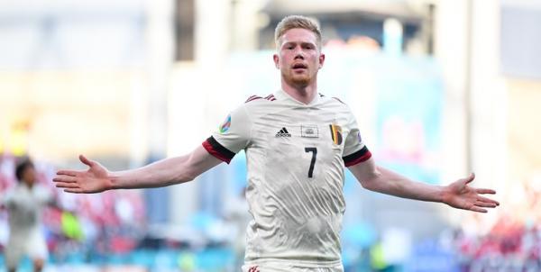 دیدار تیم ملی بلژیک و دانمارک,یورو 2020