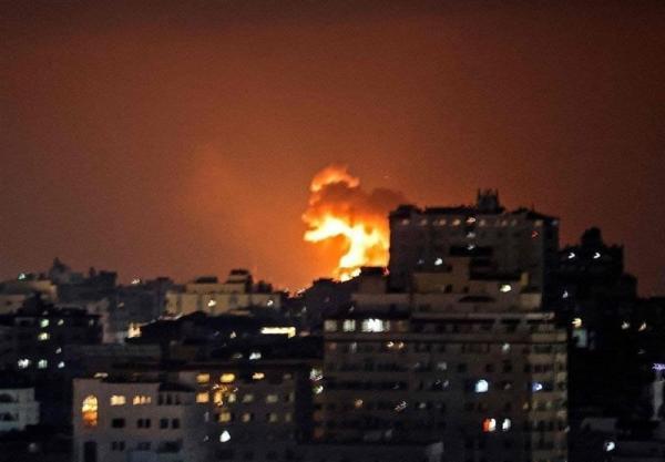 حمله هوایی جنگندههای اسرائیل به نوار غزه,جنگ اسرائیل و فلسطین