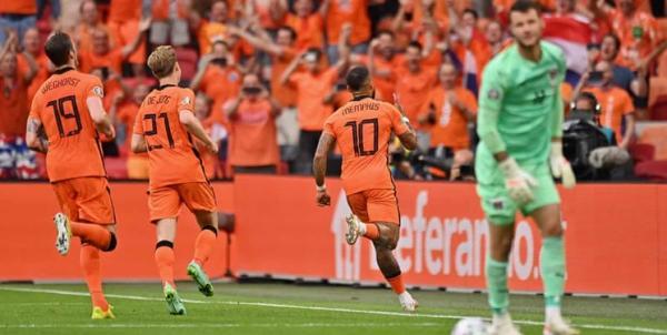 دیدار تیم ملی هلند و اتریش,یورو 2020