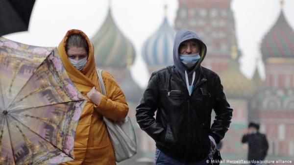 کرونا در روسیه,شیوع نوع جدید کرونا در روسیه